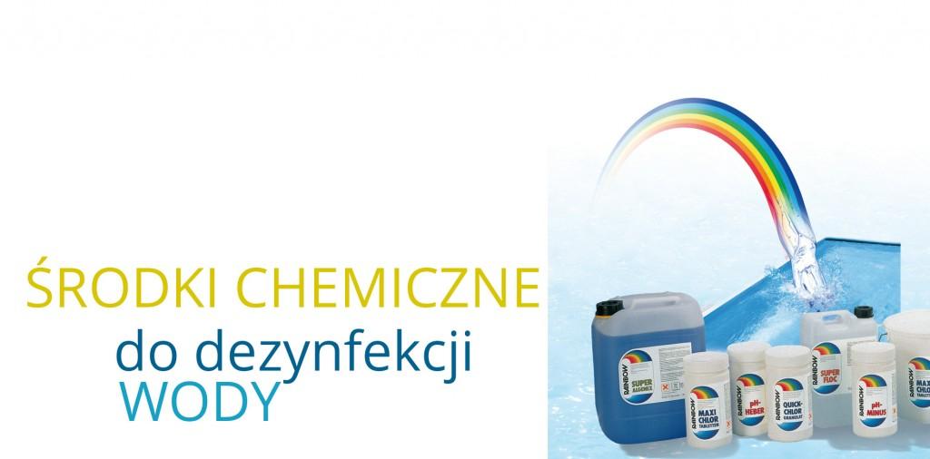 środki do dezynfekcji wody