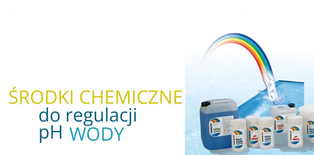 środki do regulacji ph wody