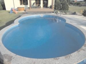 basen wyłożony folią ocena de luxe