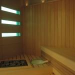 lampy w saunie