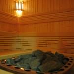 oświetlenie sauny