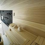 sauna w rezydencji