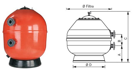 filtr volcano do basenów publicznych