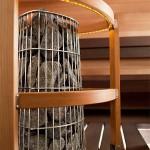 piec do sauny Harvia Kivi w obudowie