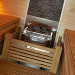 piec do sauny Harvia Topclass Combi zamontowany