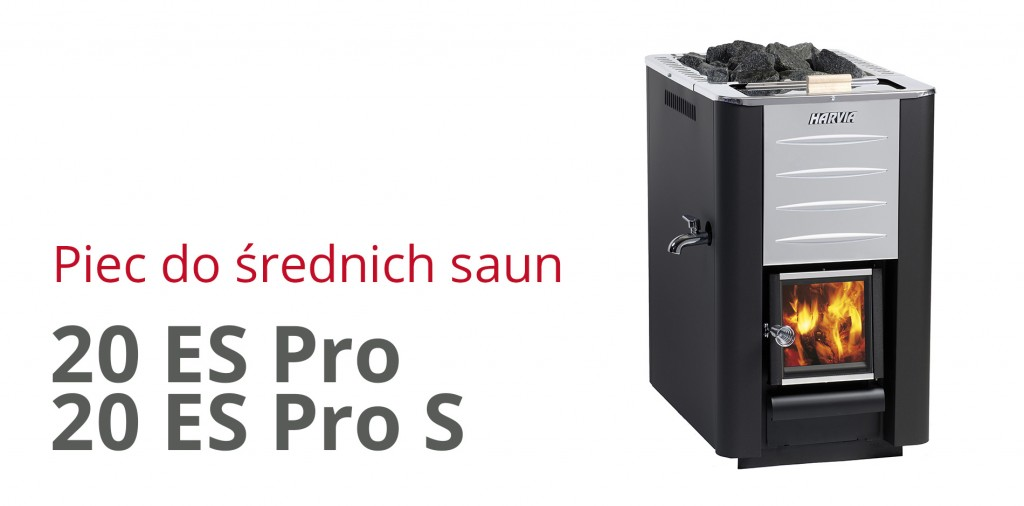 piec harvia 20 ES Pro i Pro S