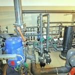 instalacja oczyszczania wody w basenie publicznym