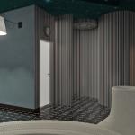projekt pomieszczenia spa wizualizacja 3d