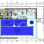 projekt wstępna koncepcja basenu rekreacyjnego