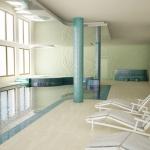 wizualizacjja 3d pomieszczenia basenu hotelowego
