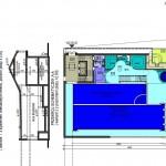 wstępna koncepcja basenu projekt
