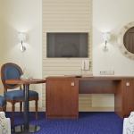 aranżacja pokoju hotelowego w stylu klasycznym