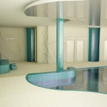 aranżacja wnętrza basenu projekt wizualizacja