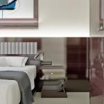 aranżacja wnętrza pokoju w nowoczesnym hotelu