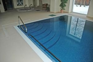 basen w hotelu berliner w świeradowie zdrój projekt i realizacja