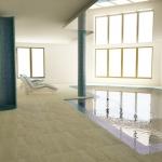 basen wewnętrzany prywatny wizualizacja 3d