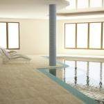 basen wewnętrzny projekt wnętrza hali basenowej