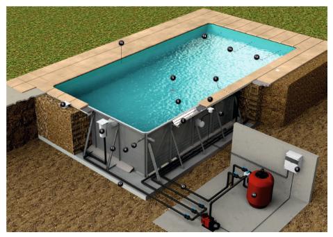 budowa stalowego basenu spectro