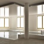 hala basenu prywatnego projekt wizualizacja