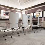 koncepcja sali konferencyjnej projekt nowoczesny