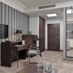 nowoczesny pokój hotelowy aranżacja wnętrza