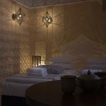 projekt oświetlenia pokoju hotelowego