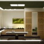 projekt pomieszczenia do wykonywania masażu w salonie spa wellness