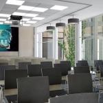 projekt sali konferencyjnej nowoczesny charakter wnętrza