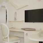 projekt stylowego pokoju hotelowego