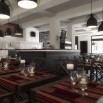 projekt wnętrza ekskluzywnej restauracji wizualizacja