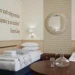 projekt wnętrza pokoju w hotelu
