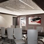 projekt wnętrza sali konferencyjnej wizualizacja koncepcji