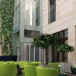 restauracja w nowoczesnym hotelu projekt aranżacji wnętrza