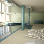 wizualizacja 3d hali basenu hotelowego
