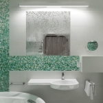 wizualizacja 3d projektu wnętrza łazienki w hotelu