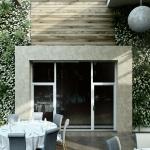 wizualizacja projektu restauracji hotelowej