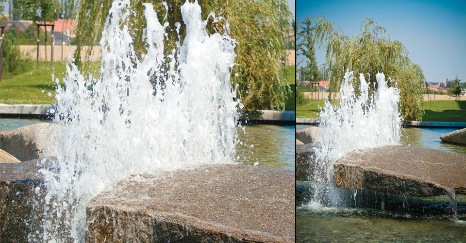 bubbler1 fontanna dająca efekt bąbelek