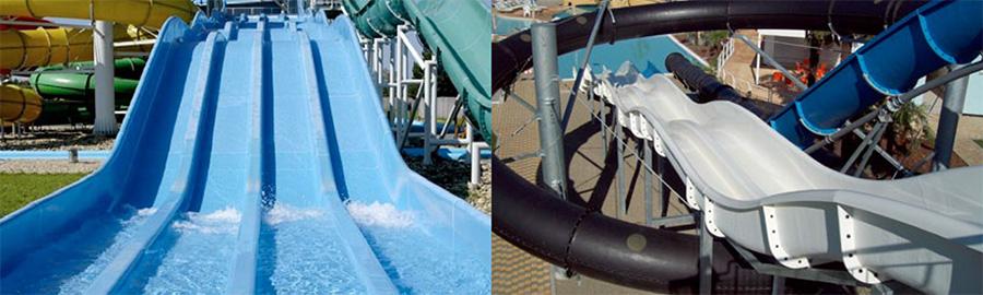 zjeżdżalnia basenowa wielotorowa
